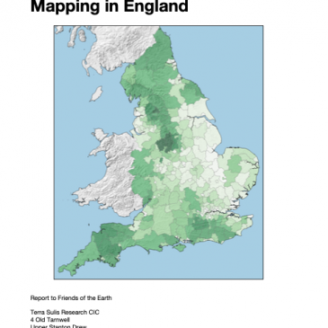 Where could we create woodland in England?