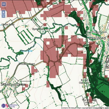 Interactive Map of Chew Valley's Trees